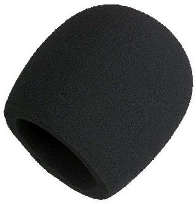 Shure A58WS Black Foam Windscreen for Larger Ball-Type Microphones A58WS-BK