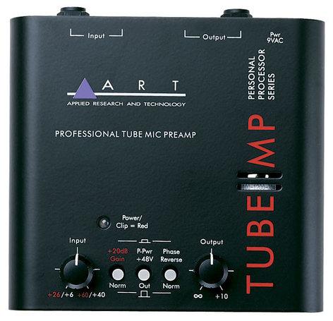 ART Tube MP Single Channel Tube Microphone Preamp TUBE-MP
