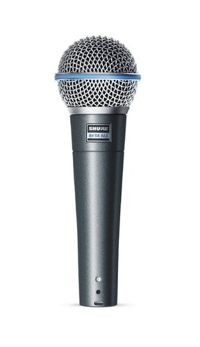 Shure BETA58A Beta 58A Supercardioid Dynamic High-Output Vocal Microphone BETA58A