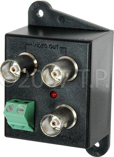 TecNec DEF-1X2DA  1x2 Video Distribution Amp with BNC Connectors DEF-1X2DA