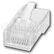 TecNec ECL702-022  RJ45 CAT5E/6 Connector, 50 Pack ECL702-022