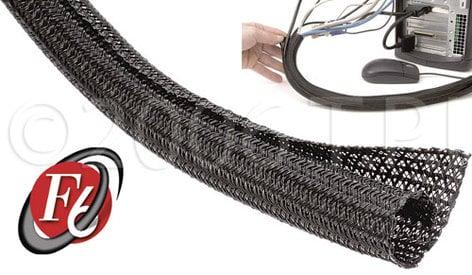 """TecNec F6N075BK100  Tech Flex 3/4"""" F6, Self Wrap 100 ft F6N075BK100"""