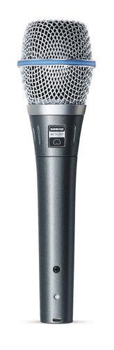 Shure BETA 87C Cardioid Handheld Electret Condenser Microphone BETA87C