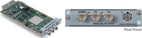 FOR-A Corporation HVS-30HSAO HD/SD-SDI Analog Output Card for HVS-300HS HVS-30HSAO