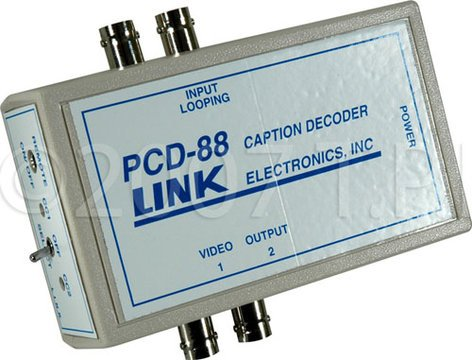 TecNec PCD-88  Closed Caption Decoder with Power Supply PCD-88