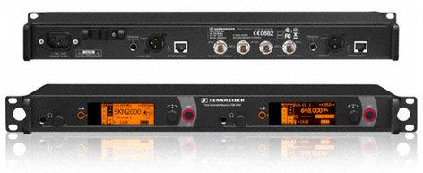 Sennheiser EM 2050 Rackmount 2-Channel True Diversity UHF Wireless Receiver EM2050