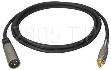 TecNec XLM-P-25  XLR Male-RCA Male Cable, 25 ft XLM-P-25
