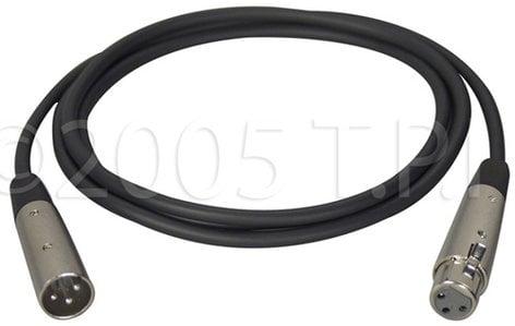 TecNec XLM-XLF-25  XLR Male-XLR Female Cable 25 ft XLM-XLF-25