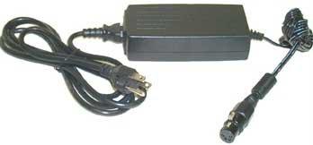 Bescor PSA124 Power Supply, AC, Miniature for DV Cameras with 4-Pin XLR PSA124