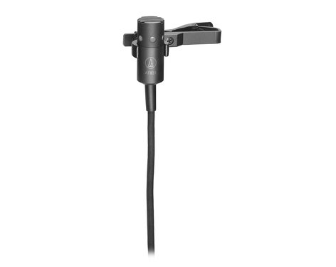 Audio-Technica AT831R Miniature Lavalier Condenser Microphone, Cardioid AT831R