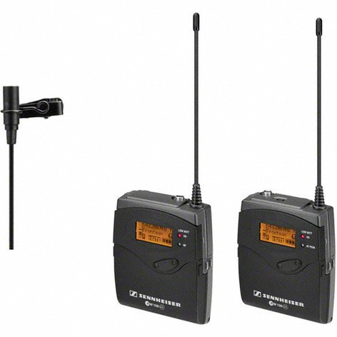 Sennheiser ew 112P G3 Wireless Camera Mount Microphone System with the ME2 Lavalier EW112P-G3
