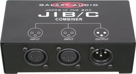 Galaxy Audio JIB/C Mic Combiner (XLR 2 to 1) JIB/C