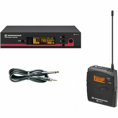 Sennheiser ew 172 G3 Wireless Instrument Bodypack System with CI1 Instrument Cable EW172-G3
