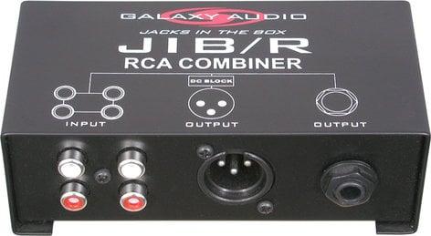 Galaxy Audio JIB/R Combiner (2x Stereo to 1 Mono) JIB/R