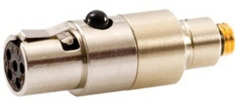 DPA Microphones DAD6012 MicroDot to TA-5F Switchcraft Adapter for Lectrosonics M185. DAD6012