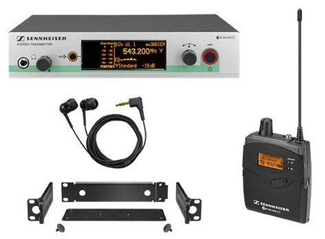 Sennheiser ew 300 IEM G3 Wireless In-Ear Monitor System EW300IEM-G3