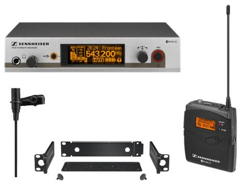 Sennheiser EW 312 G3 Wireless Bodypack Microphone System with ME2 Lavalier EW312-G3