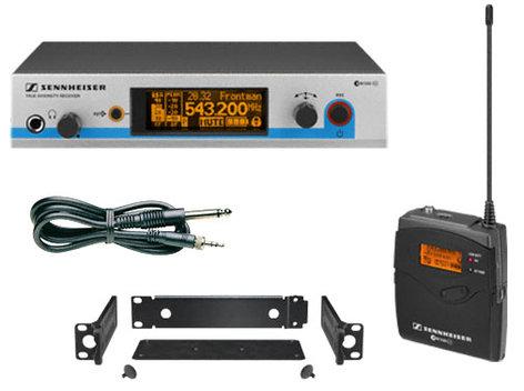 Sennheiser EW572-G3 Wireless Bodypack Instrument System with Ci1 Instrument Cable EW572-G3