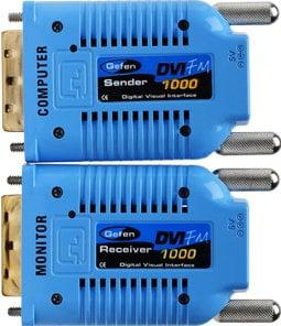 Gefen Inc EXT-DVI-FM1000 DVI Over Fiber Optic Extender EXT-DVI-FM1000