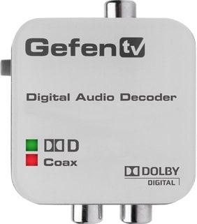 Gefen Inc GTV-DD-2-AA GefenTV Digital Audio Decoder - Dolby Digital Surround to RCA L/R Analog GTV-DD-2-AA