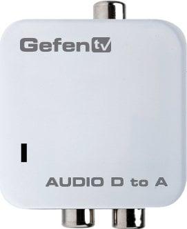 Gefen Inc GTV-DIGAUD-2-AAUD Audio Digital S/PDIF to Analog RCA L/R Audio Converter GTV-DIGAUD-2-AAUD