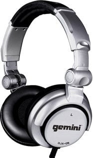Gemini DJX05 Headphones 50mm High Ouput Drivers DJX05