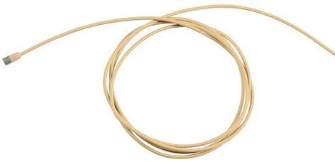 Sennheiser MKE 2-5-3 Gold-C Sub-Miniature Lavalier Microphone in Beige with 4M Pigtail Cable for Wiring MKE2-5-3C-GOLD