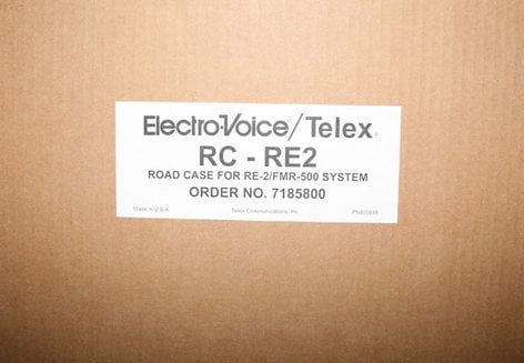 Electro-Voice RC-RE2 Case, Hard Shell, for RE-2 /FMR500 RC-RE2