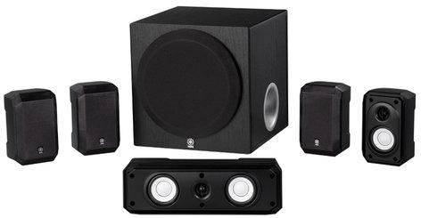 Yamaha NS-SP1800BL 5.1-Channel Speaker System in Black NS-SP1800BL