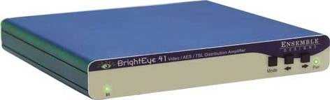 Ensemble Designs BE-41 BrightEye 41 Video/AES/Tri-Level Sync Distribution Amplifier BE-41