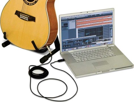 "Alesis GUITAR-LINK Cable, 1/4"" to USB, 16.5 Ft GUITAR-LINK"