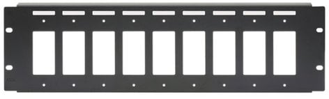 Radio Design Labs RM-D9 3RU Rack Panel Mount for 9 Decora Models RM-D9