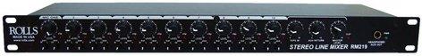 Rolls RM219 Stereo Line Mixer, Black RM219