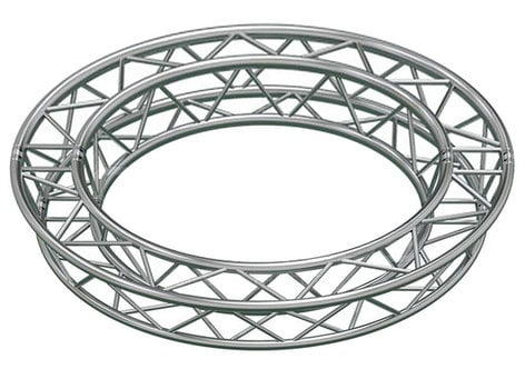 Global Truss SQ-C4-90 13.12 ft. Circle Arc Truss with 4 x 90 Degree Arcs SQ-C490