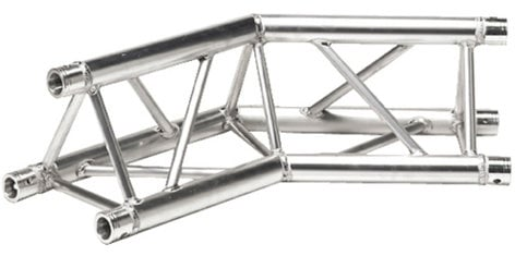 Global Truss TR-4090-U/D 1.64 ft. 2-Way 135° Triangular Truss Corner Junction TR4090-U/D