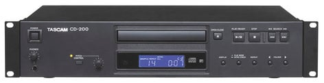 Tascam CD-200 Rackmount CD Player CD200-TASCAM