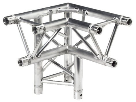 Global Truss Tr4093d L 3 Way 90 Degree Left Corner Apex Down Left