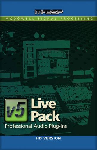 McDSP Live Pack HD Live Sound Venue Plug-in Bundle LIVE-PACK-HD