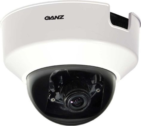 Computar/Ganz ZN-D2024  Indoor Fixed Network Dome w/2-4mm Varifocal, MPEG-4/MJPEG, PoE ZN-D2024