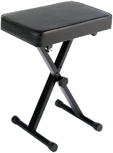 Yamaha PKBB1 X-Style Portable Keyboard Bench in Black PKBB1