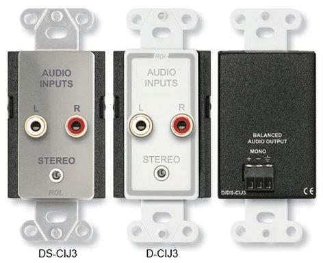 Radio Design Labs DS-CIJ3  Consumer Input Jacks, Mono  DS-CIJ3