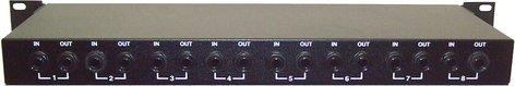 Ebtech HE8 8 channel rack box HE8