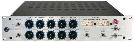 Summit Audio DCL200 Dual Compressor-Limiter DCL200