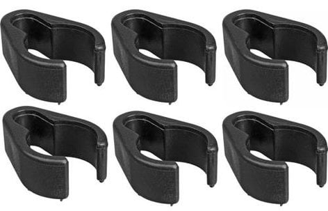 WindTech CC6  Cable Clips for Mic Stand, 6 pack CC6