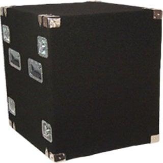 Grundorf Corp AR12DR Black 12-Space Amp Rack (Black) AR12DR-BLACK