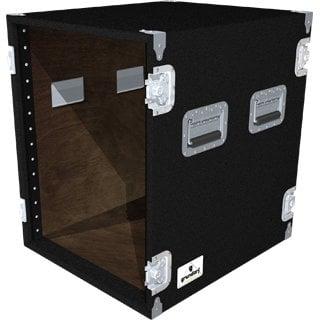 Grundorf Corp AR14EXDR-BLACK 14-Space Extra-Deep Amp Rack (Black) AR14EXDR-BLACK
