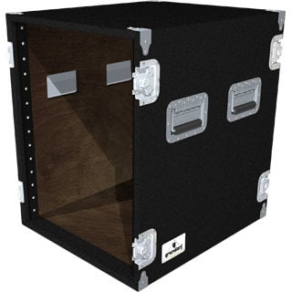 Grundorf AR14EXDR-BLACK 14-Space Extra-Deep Amp Rack (Black) AR14EXDR-BLACK