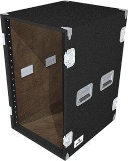 Grundorf Corp AR18EXDR-BLACK 18-Space Extra-Deep Amp Rack (Black) AR18EXDR-BLACK