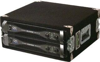 Grundorf Corp AR4DR-BLACK 4 RU Amp Rack (with Recessed Hardware, Black) AR4DR-BLACK