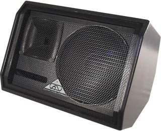 Grundorf Corp GT1071MH-BLACK Two-Way Bass Reflex Loudspeaker (with Handle, No Pole Mount) GT1071MH-BLACK
